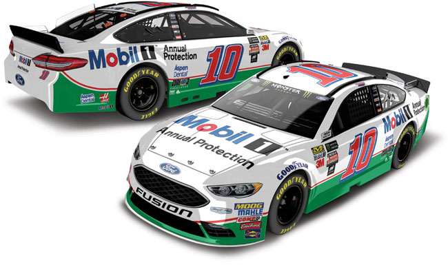 """2017 Danica Patrick 1/64th Mobil 1 """"Annual Protection"""" Pitstop Series car"""