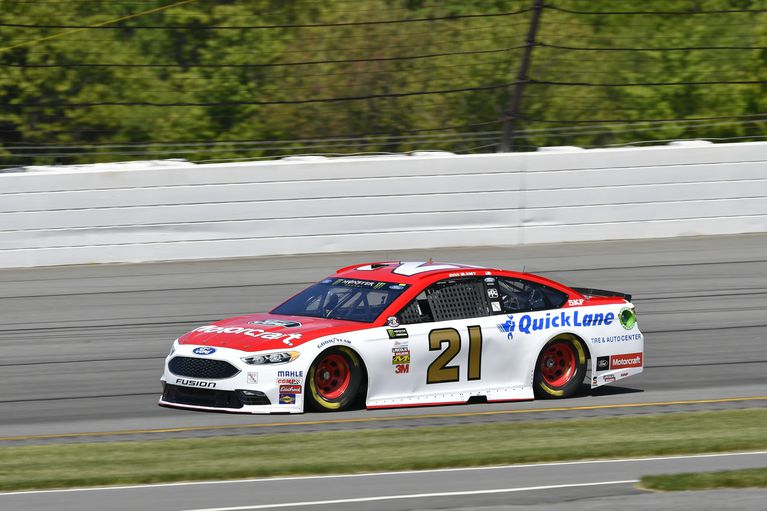 "2017 Ryan Blaney 1/24th Motorcraft ""Pocono Win"" car"