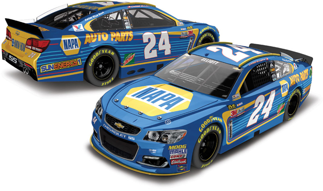2017 Chase Elliott 1/64th NAPA Pitstop Series car