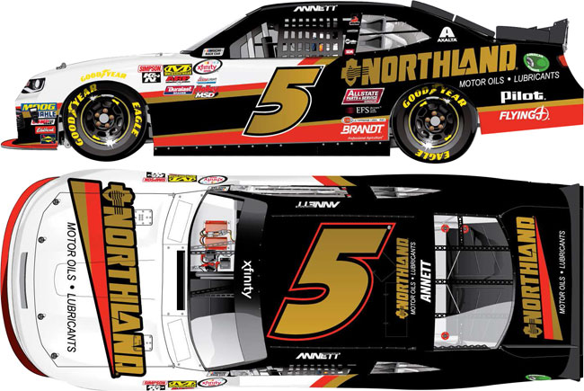 """2017 Michael Annett 1/64th Northland Oil """"Xfinity Series"""" Pitstop Series car"""