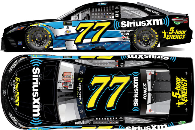 2017 Erik Jones 1/24th Sirius XM car