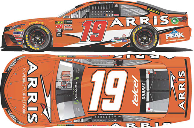 2018 Daniel Suarez 1/64th ARRIS car
