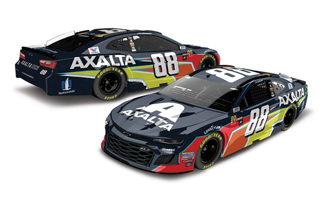 2018 Alex Bowman 1/24th Axalta Elite car