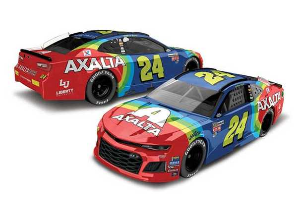 "2018 William Bryon 1/64th Axalta ""Darlington Throwback"" car"