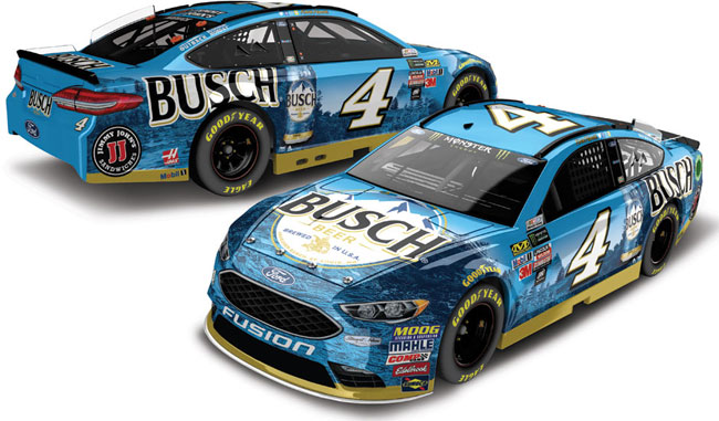 2018 Kevin Harvick 1/24th Busch Beer Elite car