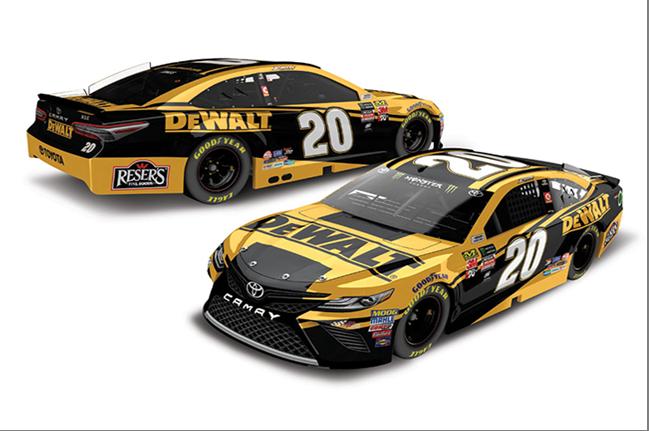 2018 Erik Jones 1/64th Dewalt car