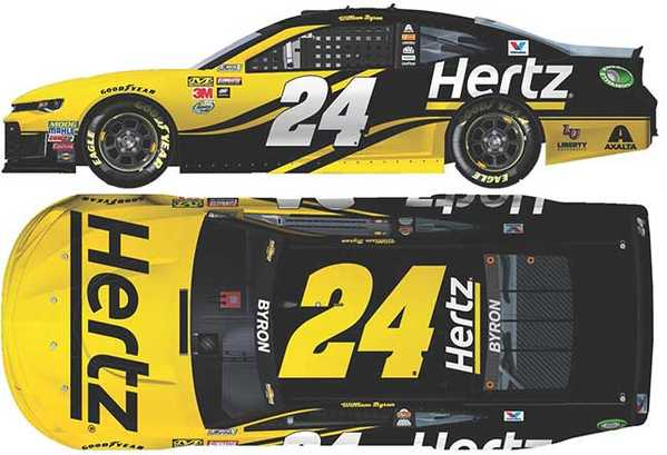 2018 William Bryon 1/64th Hertz car