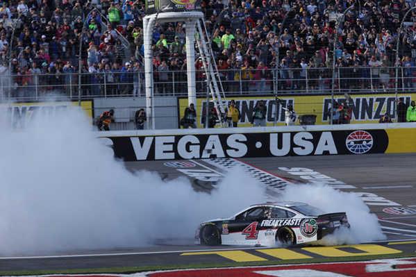 """2018 Kevin Harvick 1/24th Jimmy Johns """"Las Vegas Win"""" Elite car"""