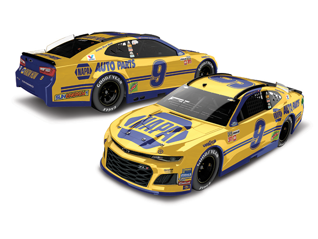 "2018 Chase Elliott 1/64th NAPA ""Darlington Throwback""  car"