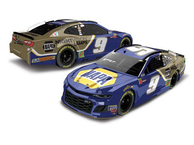 "2018 Chase Elliott 1/24th NAPA ""Night Vision"" Elite car"