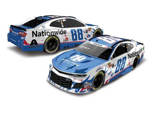 "2018 Alex Bowman 1/64th Nationwide Insurance ""Patriotic"" car"