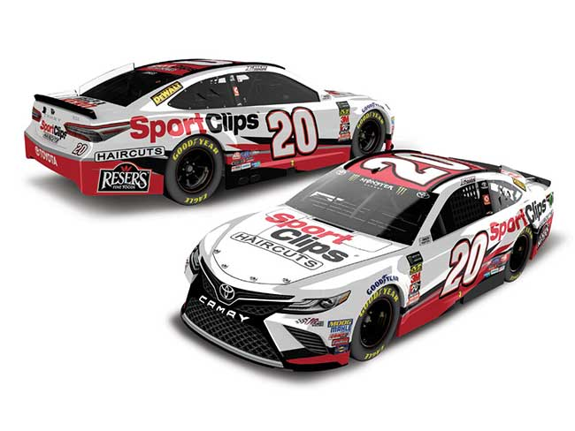 2018 Erik Jones 1/64th Sport Clips car