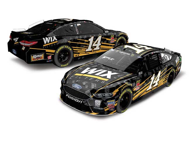 2018 Clint Bowyer 1/64th WIX Filters car