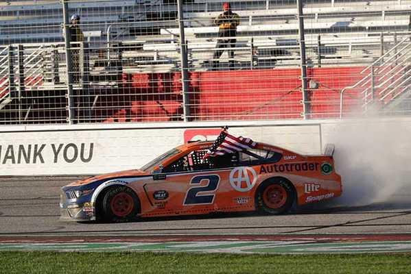 "2019 Brad Keselowski 1/24th Autotrader ""Atlanta Win"" hood open car"