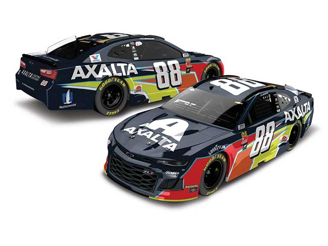 2019 Alex Bowman 1/64th Axalta car