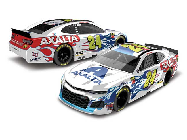 "2019 William Bryon 1/64th Axalta ""Flames of Independence"" car"