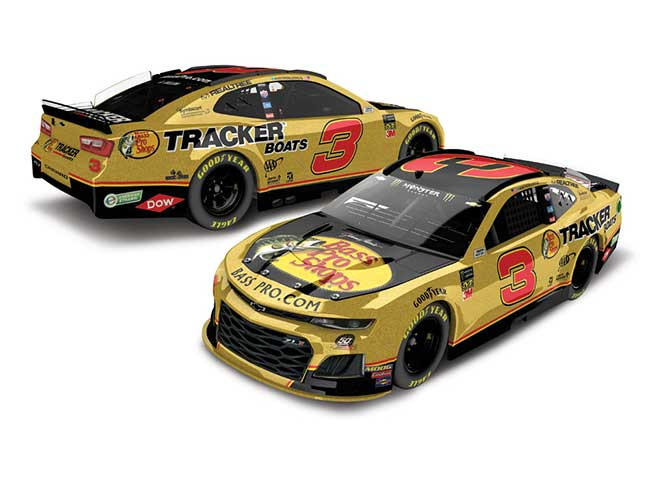 2019 Austin Dillon 1/64th Bass Pro Shops Gold car