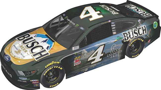 """2019 Kevin Harvick 1/64th Busch Beer """"Ducks Unlimited"""" car"""