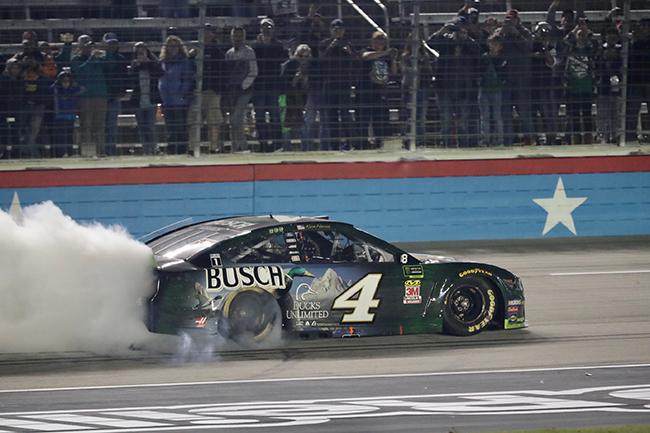 "2019 Kevin Harvick 1/64th Busch ""Ducks Unlimited""""Texas Win"" hood open car"