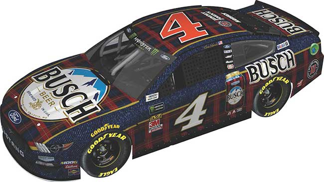 """2019 Kevin Harvick 1/64th Busch Beer """"Fannel"""" car"""