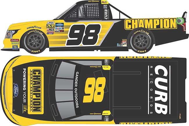 2019 Grant Enfinger 1/64th Champion truck