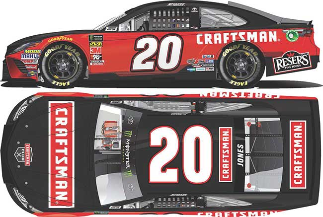2019 Erik Jones 1/64th Craftsman car