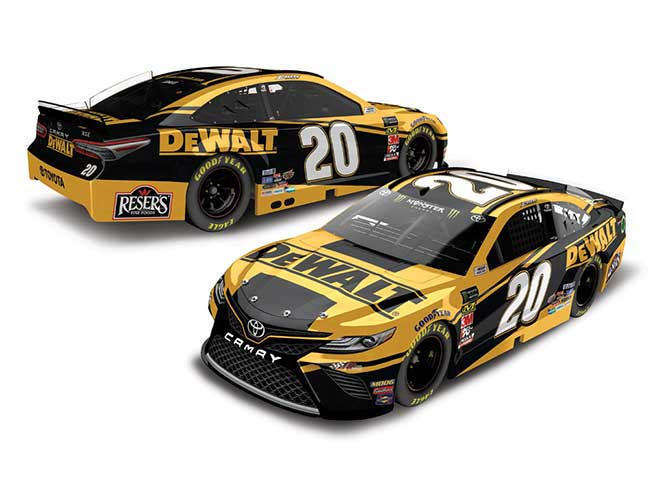 2019 Erik Jones 1/64th DeWalt car
