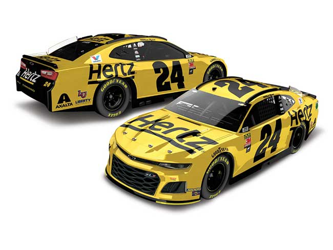2019 William Bryon 1/64th Hertz car