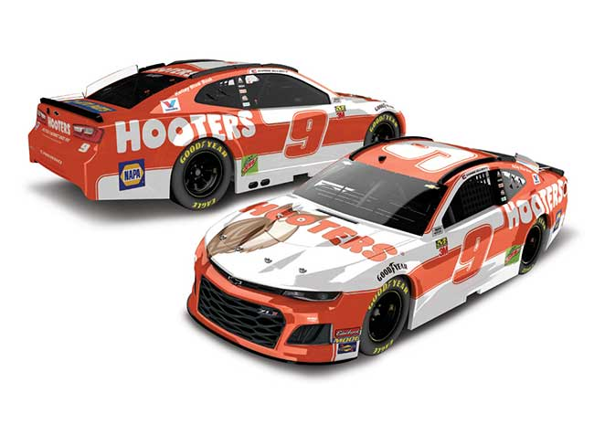 2019 Chase Elliott 164th Hooters car