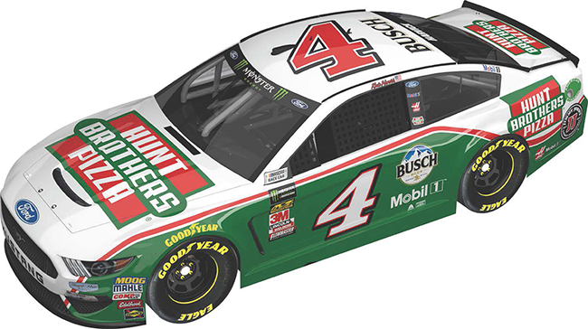 2019 Kevin Harvick 1/24th Hunt Brothers Pizza hood open car