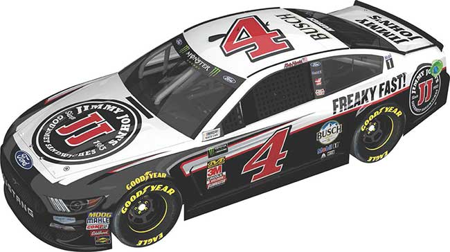 2019 Kevin Harvick 1/64th Jimmy John's car