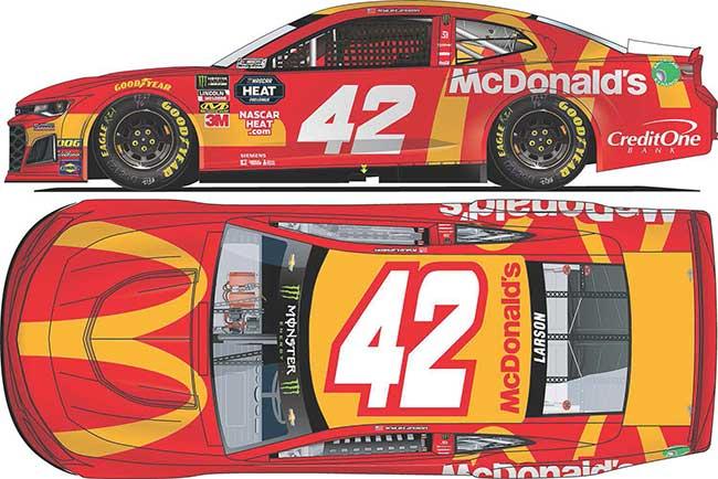 2019 Kyle Larson 1/64th McDonald's car