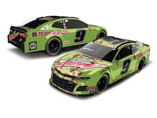 "2019 Chase Elliott 1/64th Mountain Dew ""Team Rubicon"" car"