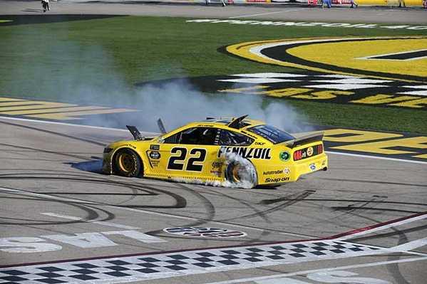 "2019 Joey Logano 1/24th Pennzoil ""Las Vegas Win"" hood open car"