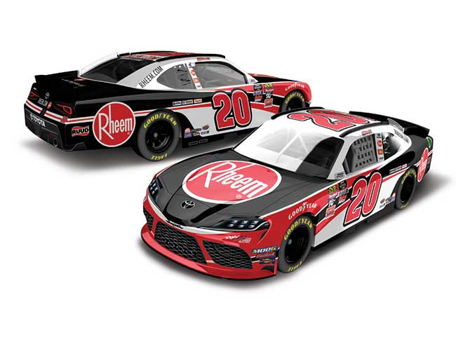 "2019 Christopher Bell 1/64th Rheem ""Xfinity Series"" car"