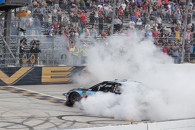 "2019 Martin Truex Jr 1/24th Sirius XM ""Dover Win"" hood open car"