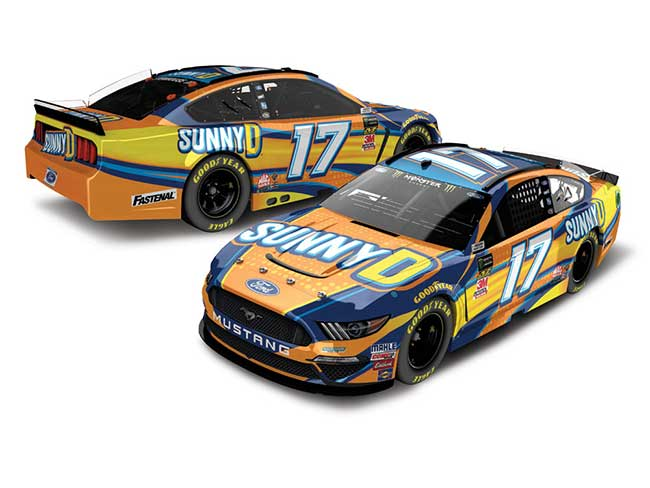 2019 Ricky Stenhouse Jr 1/64th SunnyD car