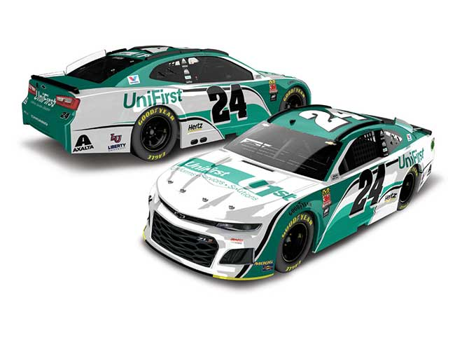 2019 William Bryon 1/64th UniFirst car