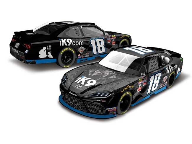 "2019 Jeffrey Earnhardt 1/64th iK9 ""Xfinity Series"" car"