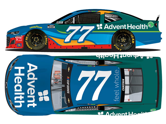 2020 Ross Chastain 1/64th AdventHealth car
