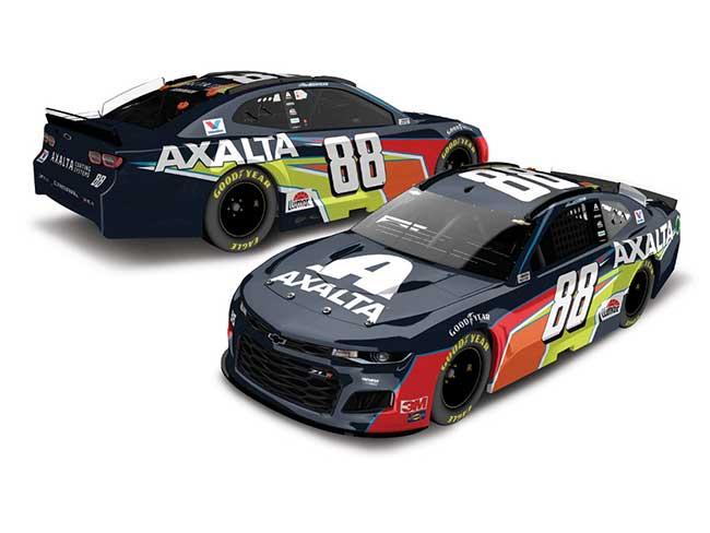 2020 Alex Bowman 1/64th Axalta car
