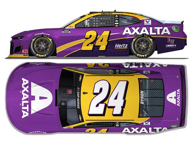 "2020 William Byron 1/64th Axalta ""24 Tribute"" car"