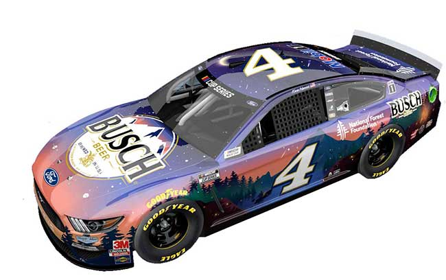 """2020 Kevin Harvick 1/64th Busch Beer """"National Forest Foundation"""" car"""