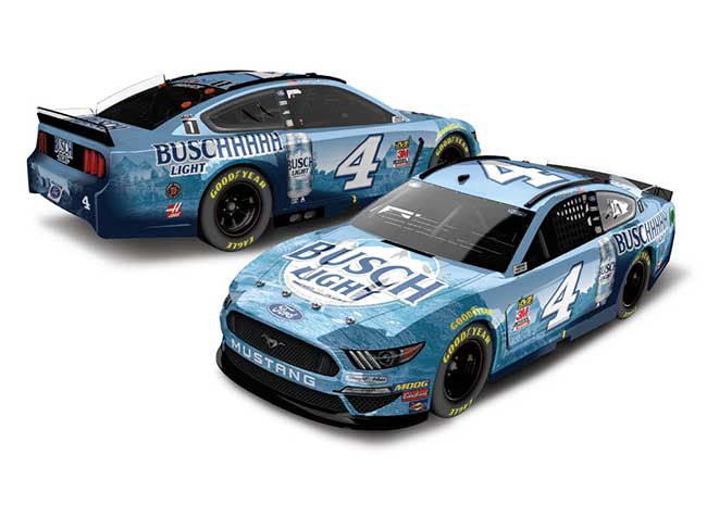 2020 Kevin Harvick 1/64th Busch Light Beer car