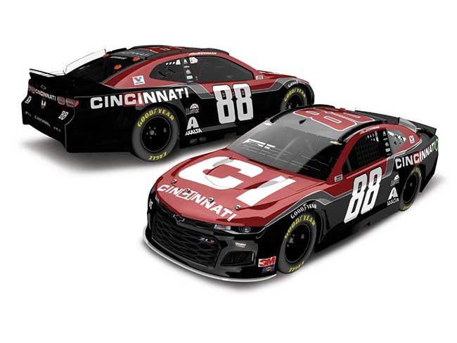 2020 Alex Bowman 1/64th Cincinnati car
