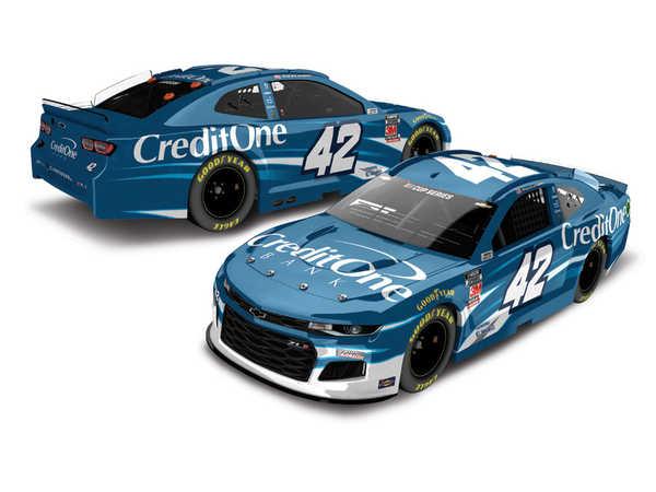 2020 Kyle Larson 1/64th Credit One car