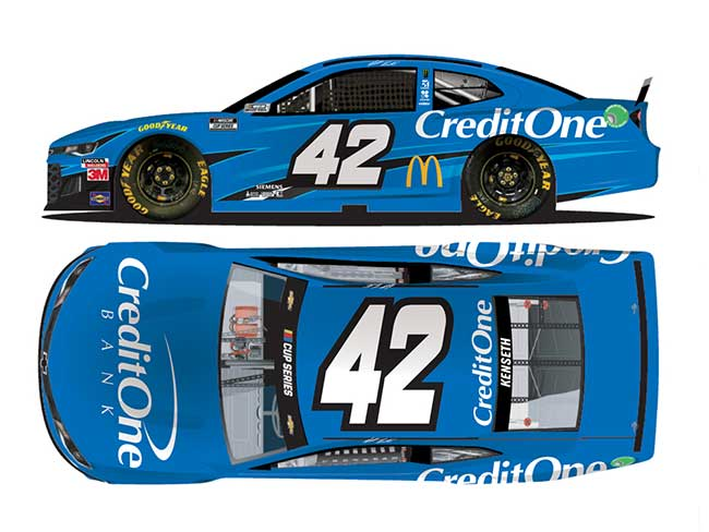 2020 Matt Kenseth 1/64th Credit One Bank car