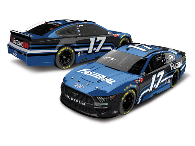 2020 Chris Buescher 1/64th Fastenal car