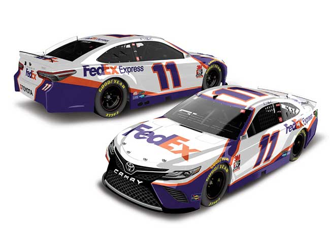 2020 Denny Hamlin 1/64th Fed Ex Express car