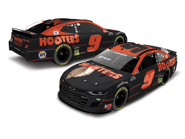 2020 Chase Elliott 1/64th Hooters car